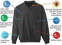 Windbreaker Wind Shirt - Lightweight Pullover Waterproof Golf Jacket