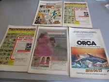 MARVEL COMIC  THE AVENGERS  SET OF 5   #S 34, 37,39,41,36, 1976-1977