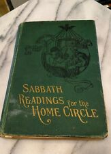 Sabbath Readings For The Home Circle Vintage Antique Book 1905