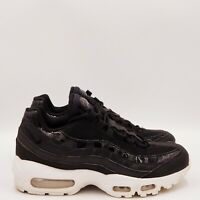 Nike Air max 95 SE Sneakers Running Shoes Women's Size 8 Medium Black White A719