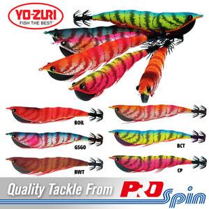 Yo Zuri Squid Jigs Shrimp Hunter Size 4.0 - 120mm 27g - Choose Colour