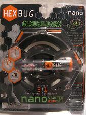 Hexbug Glow In The Dark Nano Starter Set Hexbug & 3 Habitat Pieces 2010 *MINT*