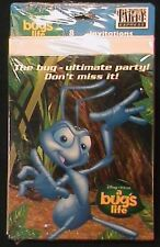 A BUGS LIFE 8 BIRTHDAY INVITATIONS DISNEY PIXAR PARTY EXPRESS