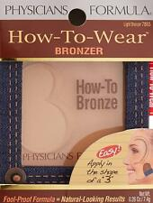Physicians Formula How to Wear Bronzer 7866 -  Fool Proof Formula - Natural Look