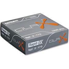 Rapid Rapid Duax Heavy-Duty Metal Alloy Staples, 1,000/Box, BX - ESS73339