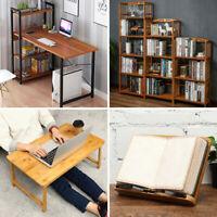 Bookshelf Bookcase Computer Desk Table Laptop Stand Rack Display Study Work