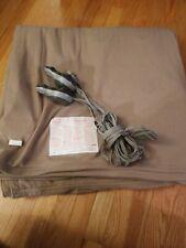 Sunbeam Acrylic Electric Blanket King Medium Beige Warming Soft