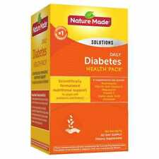 Nature Made Gluten & Sugar Free Diabetic Health Pack 60 Packets Multi-Vitamin