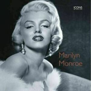 Marilyn Monroe Icons of Our Time Clayton Marie Very Good Hardcover