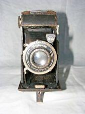 Antique Voigtlander Copal Compur Rapide Soufflet Appareil Photo Braunschweig Pli