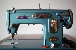 Premier 505 Deluxe Sewing Machine + Case ***VINTAGE***