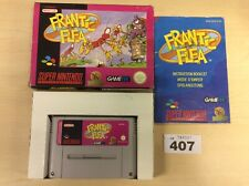 SNES-Frantic Flea-Boxed mit Handbuch