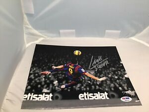 Luis Suarez Signed FC Barcelona 8x10 Photo Autographed Soccer PSA/DNA COA 1A