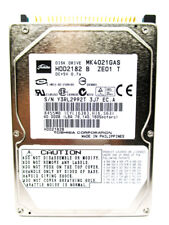 Toshiba 40GB MK4021GAS IDE (HDD2182 B ZE01 T) Laptop Hard Drive WIPED & TESTED!