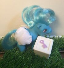 Vintage G1 My Little Pony Mail Order Baby Blue Ribbon Lot-Diaper/Toy 1984 MLP20
