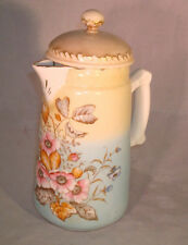 Vintage Coffee/Chocolate Pot Germany SIGNED on Inside Lid