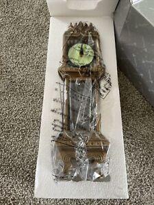 Disney The Haunted Mansion 13 Hour Clock Figurine-Glow in the Dark