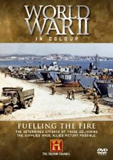 World War II In Colour - Fuelling The Fire [DVD].