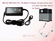 AC DC Adapter For Suaoki Portable 400Wh Solar Electric Start Gas Power Generator