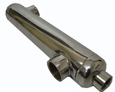 Heat Exchanger for Swimming Pools shell and tube design.