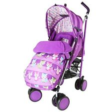 SALE iSafe Stroller Foxy Design Complete With Footmuff Headhugger Raincove