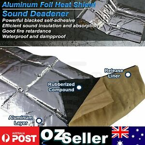 Area=3.8m2 Foam Mats Sound Noisy Deadener Thermals Blocker Reduce VAN UTE 4WD SE