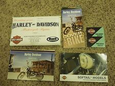 2004 Harley-Davidson Softail Models Motorcycle Papers Buell American Motorcycles