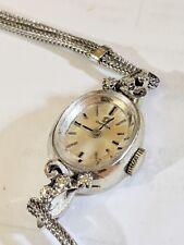 Omega Vintage Ladies 14K Gold Diamond Watch