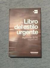 LIBRO DEL ESTILO URGENTE. AGENCIA EFE - GALAXIA GUTENBERG - CIRCULO LECTORES