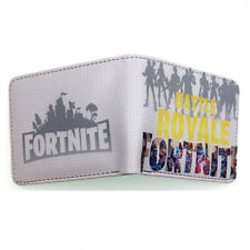 New Fortnite Wallet Leather PU with Coin Pouch