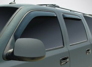 In-Channel Vent Visors for 1992 - 1999 Chevy Suburban