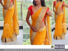 Indian ethnic sari Wedding Bollywood Party Wear designer royal Pakistani saree
