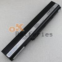 New 5200mAh Laptop Battery for Asus K52JE K52F A32-K52 A31-K52 A42-K52 Black