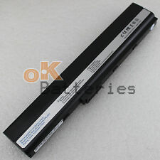 New Laptop 14.8V 5200mAH Battery for Asus A32-K52 A42-K52 A52J B53 K42JC Black