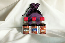 Papa's Essences Gift Bag. with 3 Two Oz Bottles of favorites.