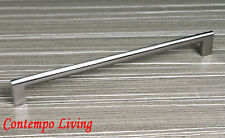 """10-5/8"""" Key Shaped Kitchen Bath Cabinet Pull Handle with Stainless Steel Finish"""