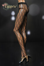 "ELENPRIV black rhomb pattern mesh tights for Fashion Royalty FR:16 16"" dolls"