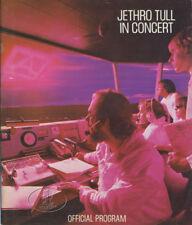 JETHRO TULL 1980 A TOUR Concert Program Book Programme