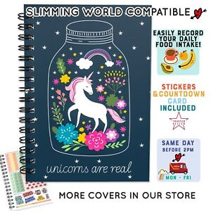 Food Diary Slimming World DIET Compatible 7WK WEIGHT LOSS JOURNAL TRACKING 1132
