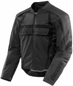 Icon Arc Textile Jacket - Stealth - Size M - **SUPER SALE**