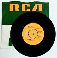 "EX/EX Elvis Presley I'M LEAVIN' b/w HEART OF ROME (RCA 2125) 7"" VINYL 45 4 Prong"