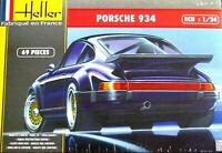 Heller 1:24 Porsche 934 Car Model Kit