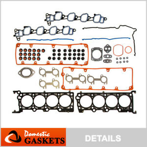 Fits 02-04 Ford Mustang Lincoln Town Car Mercury 4.6L SOHC Head Gasket Set VIN W