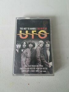 UFO TOO HOT TO HANDLE BEST OF CASSETTE TAPE EXCELLENT CONDITION