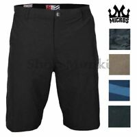 Micros Mens Hybrid Lightweight Casual Walking Board Shorts