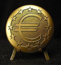 Médaille  presse-papier paperweight Euro 317g 72mm Monnaie de Paris  Medal 铜牌