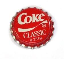 COCA-COLA Vintage Coke Classic capsules USA 1992 Bouteille Caps Rouge