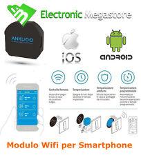 INTERRUTTORE CONTROLLO REMOTO WI-FI ACCENSIONE LUCI DA SMARTPHONE ANDROID IPHONE