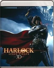 Harlock: Space Pirate 3D Blu-Ray - TWILIGHT TIME - Limited Edition - BRAND NEW