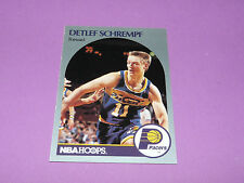 138 DETLEF SCHREMPF INDIANA PACERS 1990 NBA HOOPS BASKETBALL